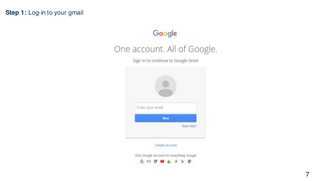 Tech talk intro to Google Drive