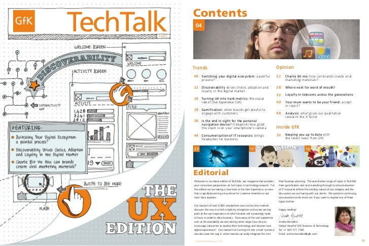 TechTalk                                              Contents                                               04           ...