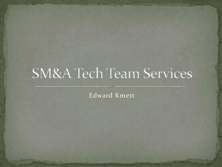 Edward Kmett<br />SM&A Tech Team Services<br />
