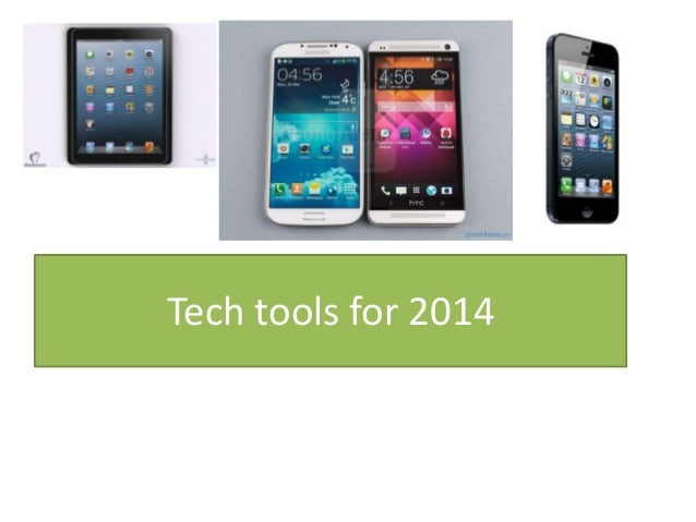 Tech tools for 2014