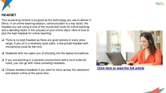 5dac7e9d34b Tech tools for online teaching  Get the one-stop guide for tech tools…