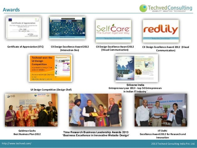 Techved consulting - UX & UI  Slide 3
