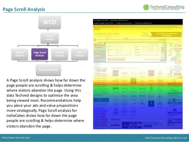 Page Scroll Analysis  WCO  Trend Analysis consist of 4 types of Analysis. Trend Analysis  Cluster Analysis  Page Scroll An...