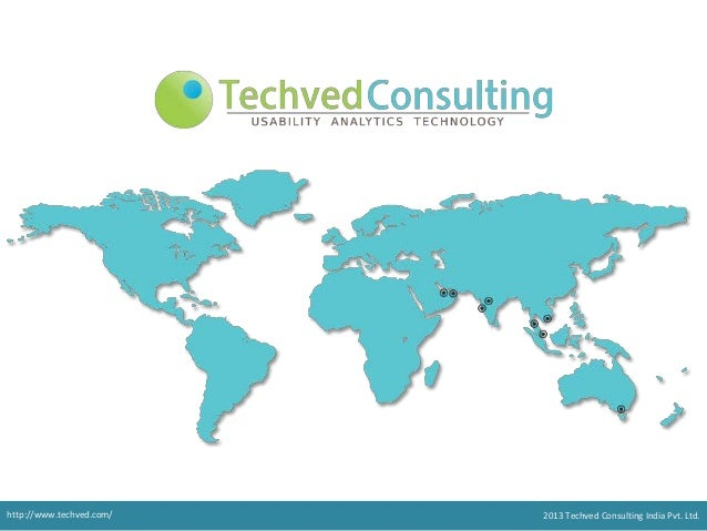 http://www.techved.com/ @ 2013 Techved Consultinghttp://www.techved.com/ 2013 Techved Consulting India Pvt. Ltd.