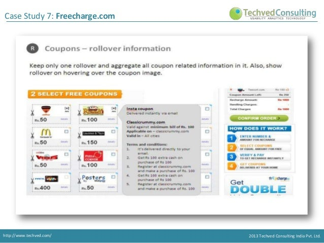 freecharge in case study How fintech company freecharge used clevertap to increase transactions by 15x with automated campaigns, thereby, ensuring that the app retains high recall value increased user transactions.