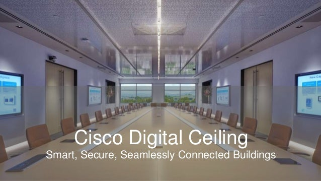 Techwisetv Workshop Cisco Digital Ceiling