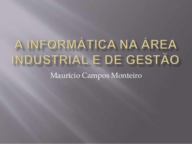 Maurício Campos Monteiro