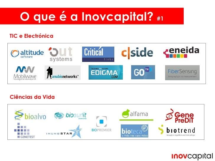 O que é a Inovcapital?  #1 TIC e Electrónica Ciências da Vida