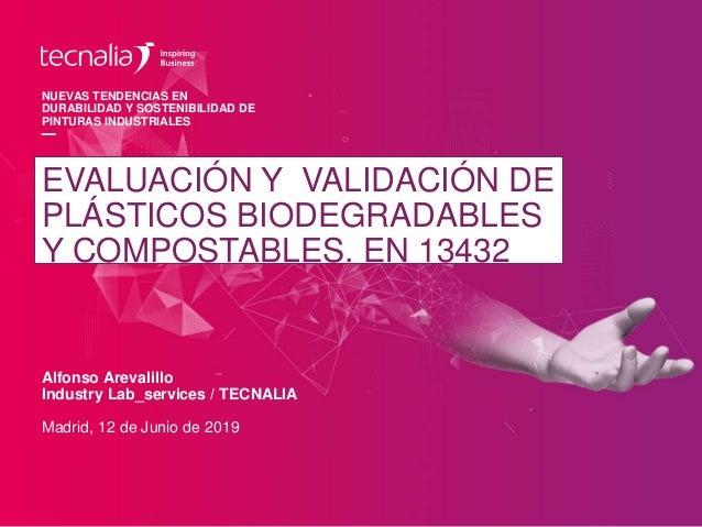 Alfonso Arevalillo Industry Lab_services / TECNALIA NUEVAS TENDENCIAS EN DURABILIDAD Y SOSTENIBILIDAD DE PINTURAS INDUSTRI...
