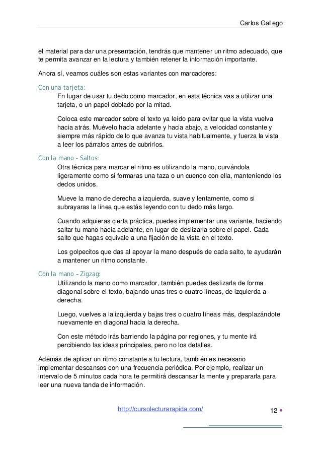 Carlos Gallego13 Recomendaciones finalesPara finalizar, me gustaría recordarte que todos estos métodos pueden parecersenc...
