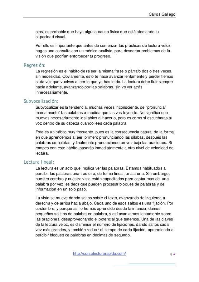 Carlos Gallego5 Poca concentración:Si tu mente no está en el estado de concentración correcto, se desvíacontinuamente hac...