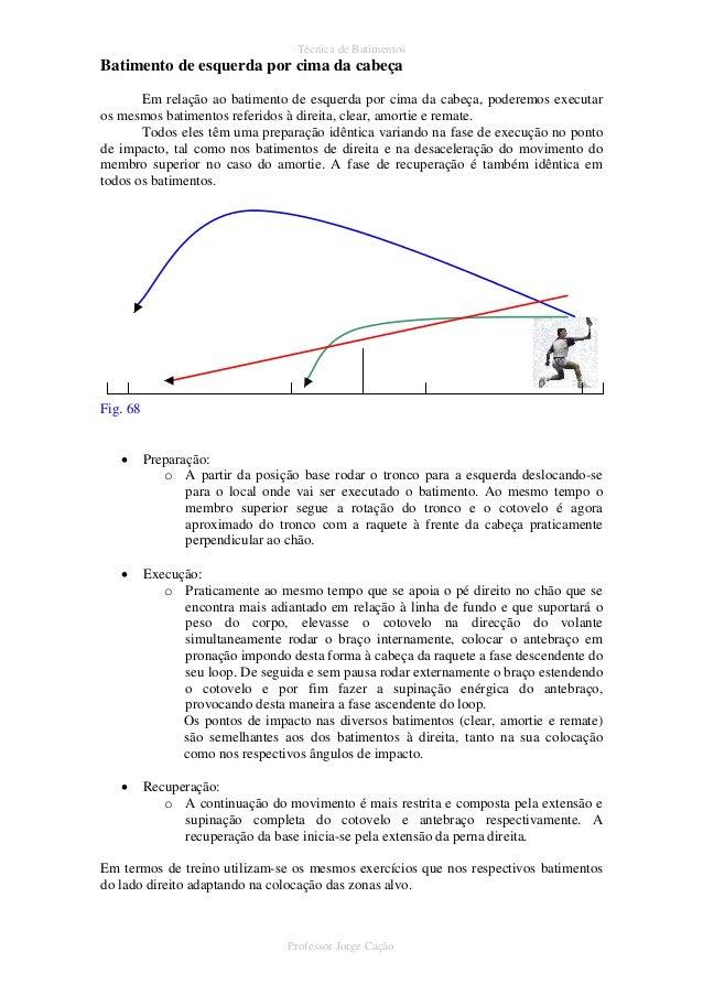 bb449156a 67 Professor Jorge Cação  54. Técnica de Batimentos Batimento de esquerda  ...