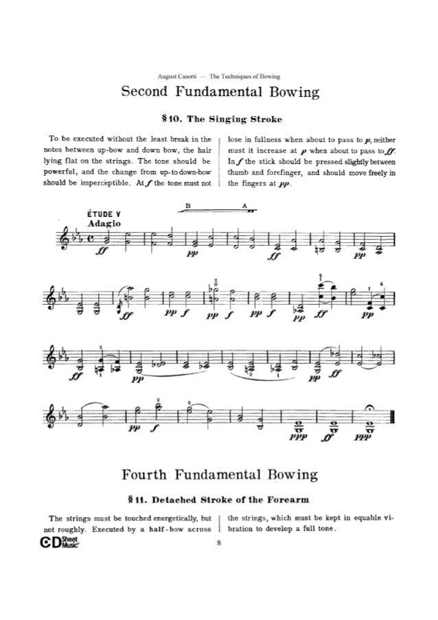 Tecnica de arco Op 50 Casorti (www sheetmusic-violin