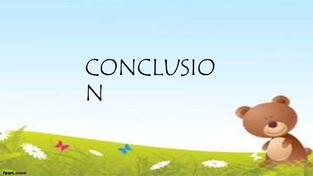 CONCLUSIO N