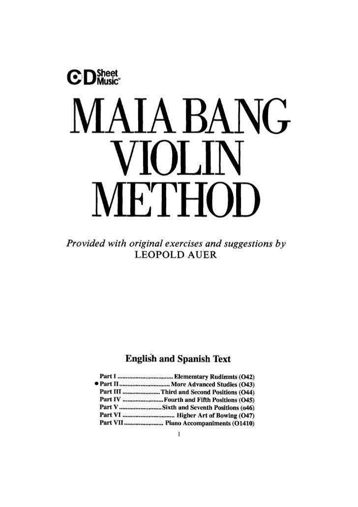 Tecnica pr violino parte ii    maia bang (www.sheetmusic-violin.blogspot.com)