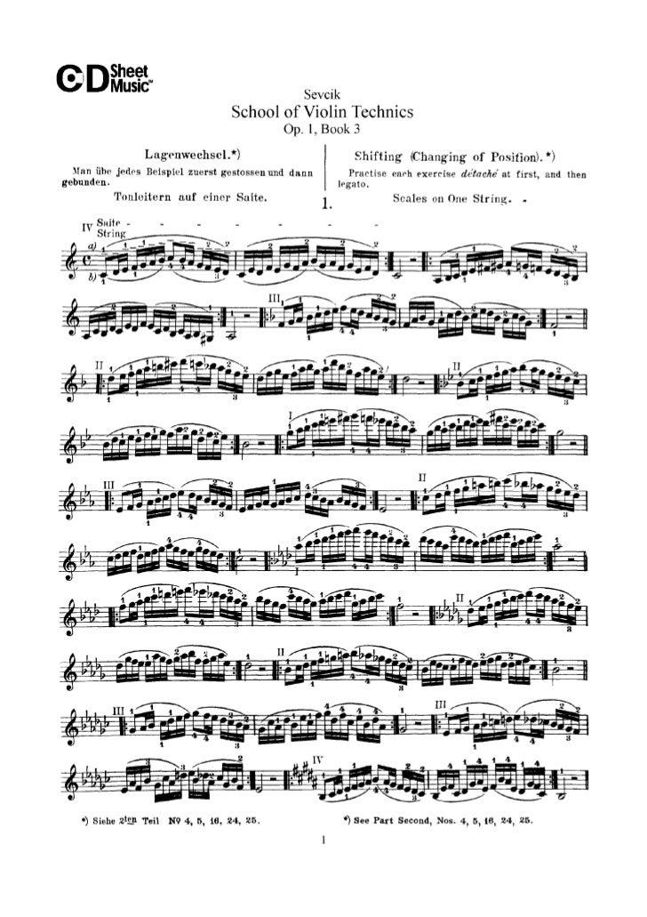 Tecnica pr violino parte iii op.1   sevcik (www.sheetmusic-violin.blogspot.com)
