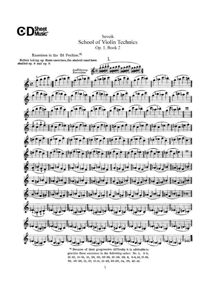 Tecnica pr violino parte ii op.1   sevcik (www.sheetmusic-violin.blogspot.com)