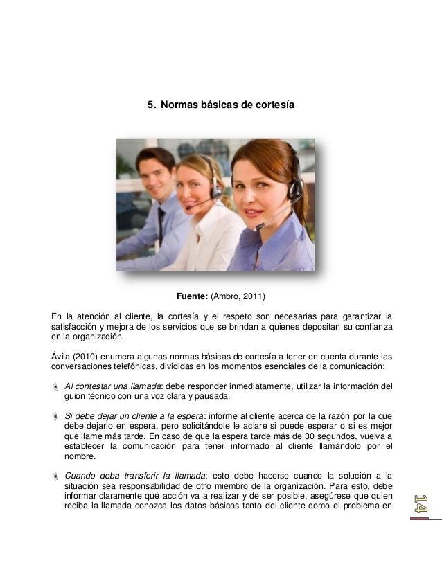 Tecnicas de atencion al cliente for Atencion al cliente