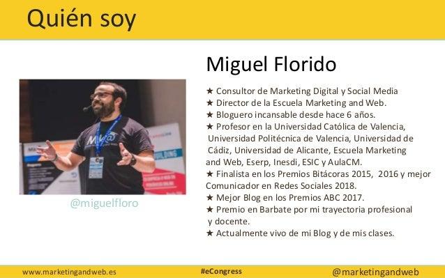 Técnicas de blogging avanzadas Econgress Málaga Slide 2