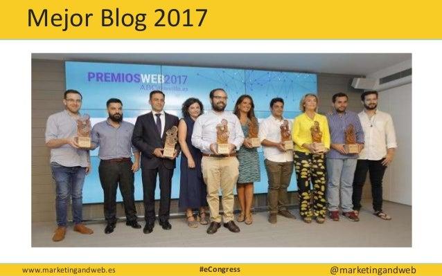 Técnicas de blogging avanzadas Econgress Málaga Slide 3