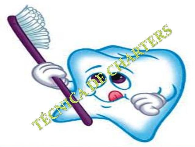 El cepillado con esta técnica es de utilidad para limpiar  las áreas interproximales. Las cerdas del cepillo se colocan e...