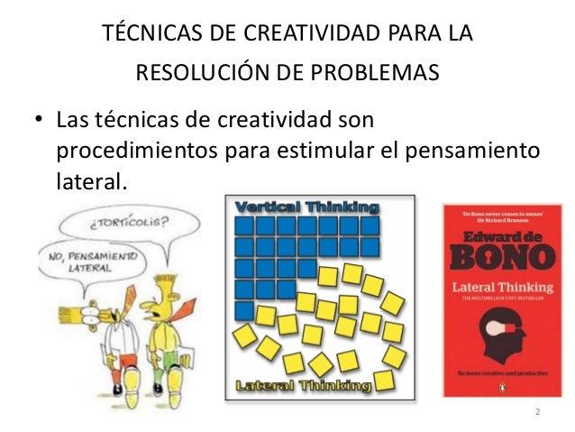 T cnicas de creatividad
