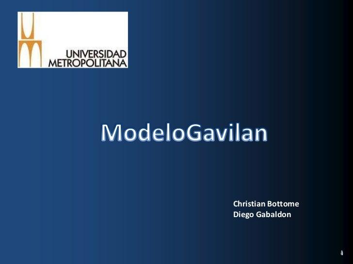 ModeloGavilan<br />Christian Bottome<br />Diego Gabaldon<br />