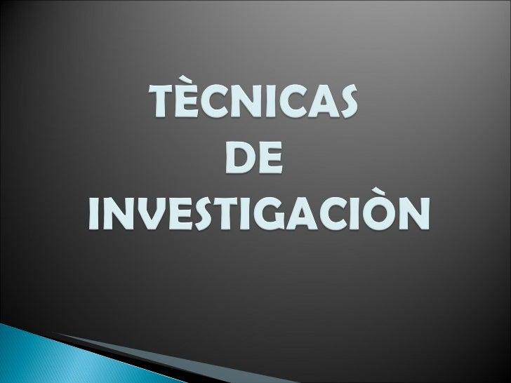    Es una técnica que consiste en observar atentamente el fenómeno,     hecho o caso, tomar información y registrarla par...