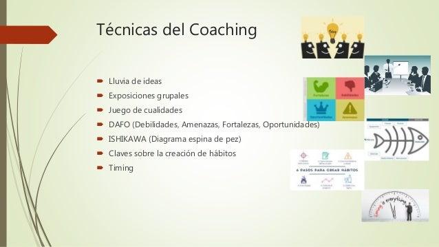 Técnicas del coaching Slide 3