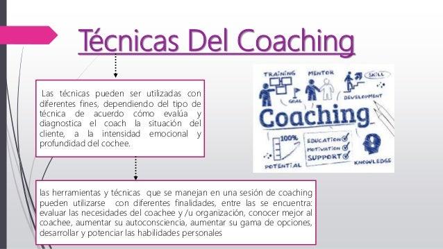 tecnicas del coaching empresarial