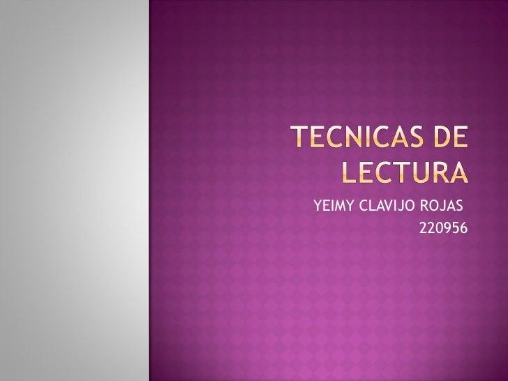 YEIMY CLAVIJO ROJAS  220956