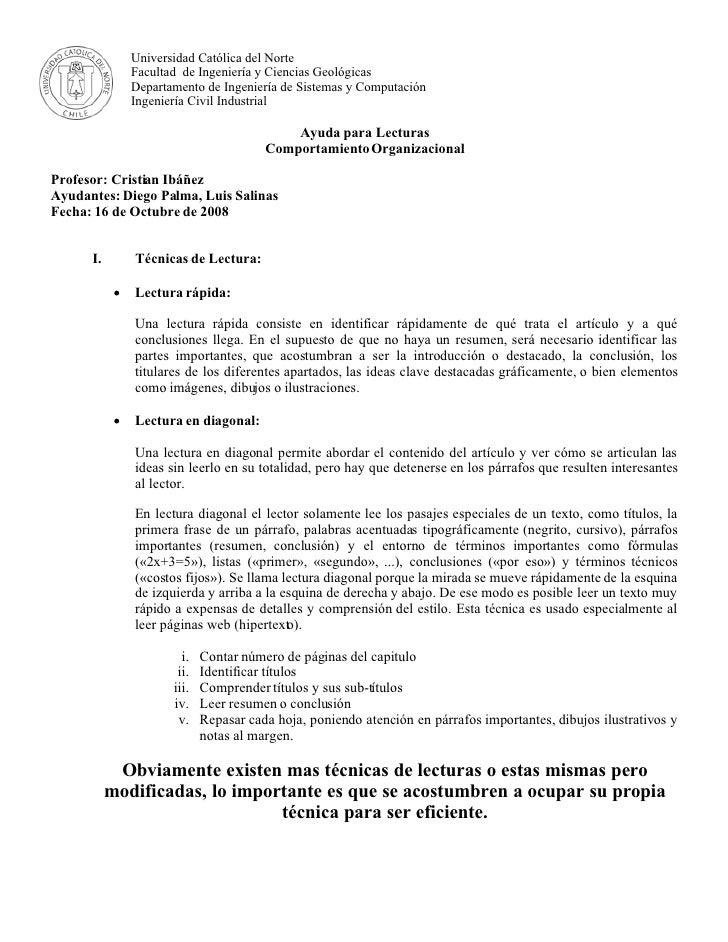 Universidad Católica del Norte                 Facultad de Ingeniería y Ciencias Geológicas                 Departamento d...
