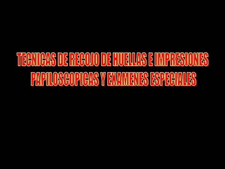 CAMPOS DE ACCION DE LA     CRIMINALISTICA     LABORATORIO   LA ESCENA DEL CRIMEN   IDENTIFICACION