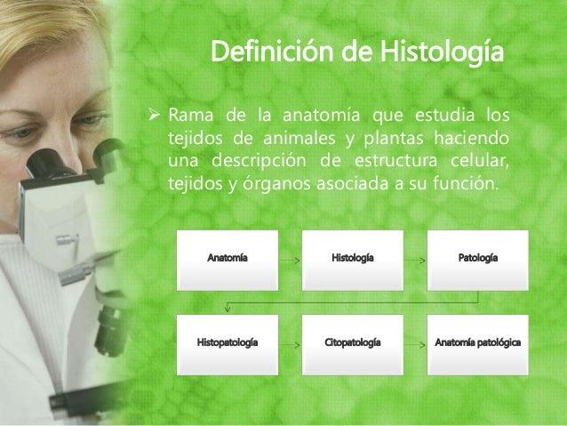 Tecnicas histologicas y microscopia