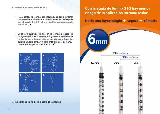 Tecnicas inyeccion insulina