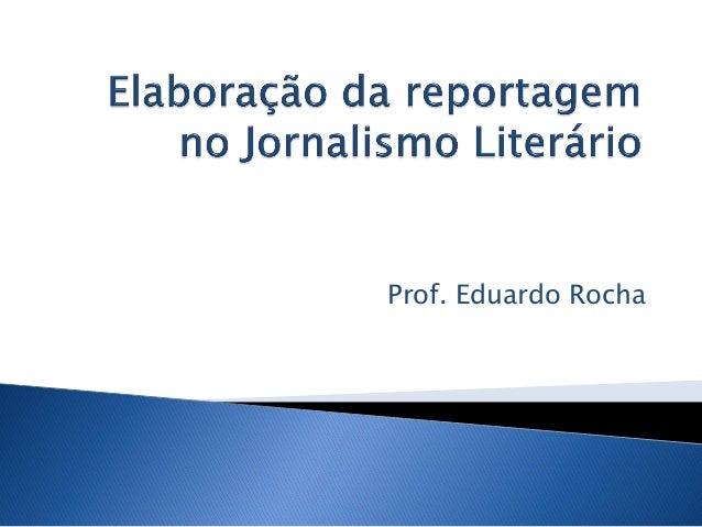 Prof. Eduardo Rocha