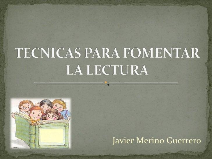 Javier Merino Guerrero