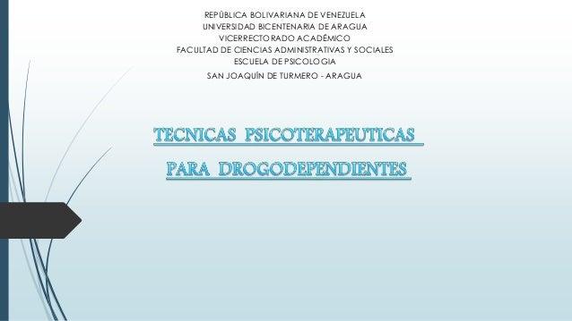 REPÚBLICA BOLIVARIANA DE VENEZUELA UNIVERSIDAD BICENTENARIA DE ARAGUA VICERRECTORADO ACADÉMICO FACULTAD DE CIENCIAS ADMINI...