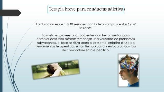 La duración es de 1 a 40 sesiones, con la terapia típica entre 6 y 20 sesiones. La meta es proveer a los pacientes con her...