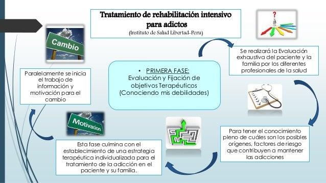 Tratamiento de rehabilitación intensivo para adictos (Instituto de Salud Libertad-Peru) Esta fase culmina con el estableci...
