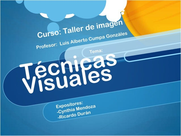 IntroducciónLas técnicas de comunicación visual son técnicasde diseño muy utilizadas, y que sirven al diseñadorcomo medios...