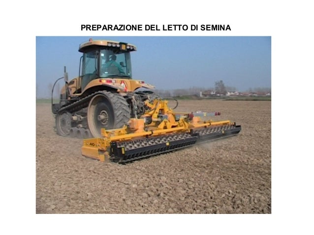 Tecniche di coltivazione del riso - Letto di semina ...