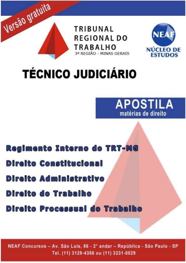 Núcleo de Estudos Alessandro Ferraz – Avenida São Luiz, 86 – cj 21 – República São Paulo - SP - Tel. 11-3129-4356 ou 11-32...