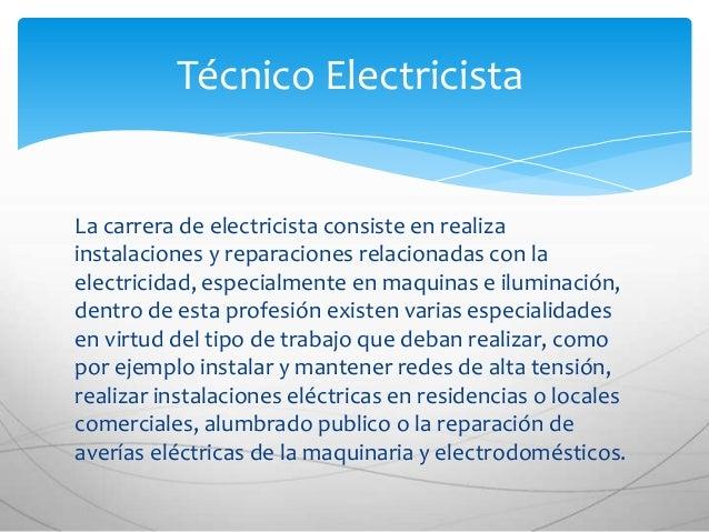 Tecnico electricista for Trabajo de electricista en malaga