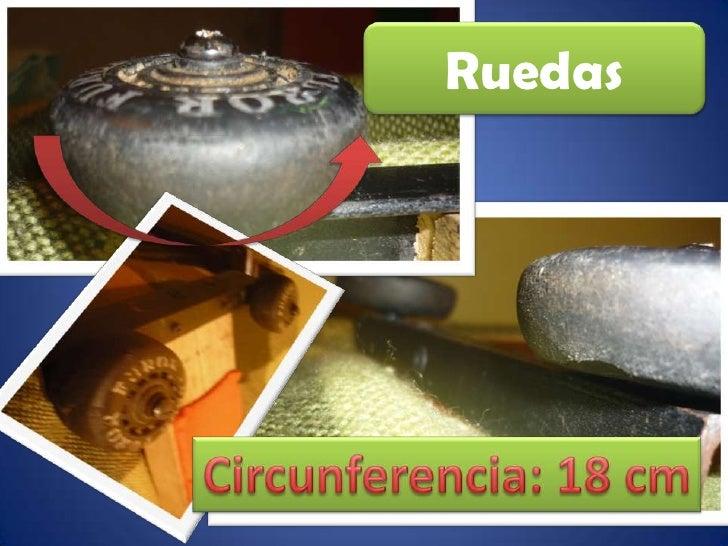 Ruedas<br />Circunferencia: 18 cm<br />