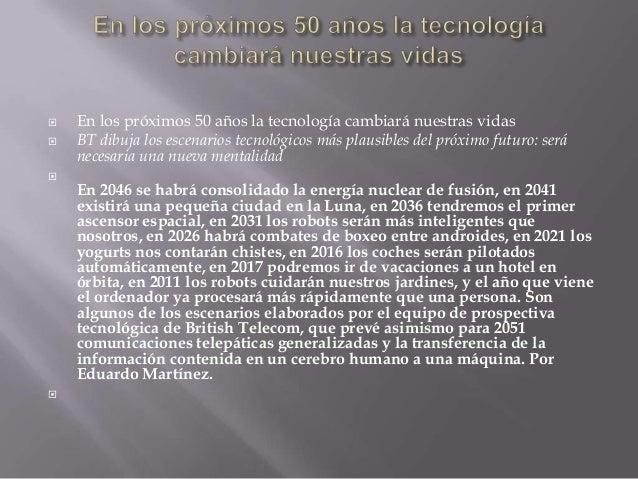 Tecnolgia y futuro Slide 2
