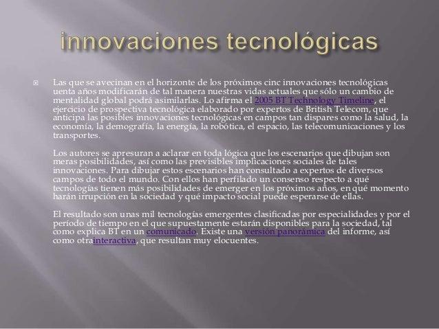 Tecnolgia y futuro Slide 3
