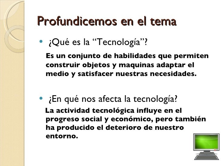 Acceso a Tecnología Slide 2