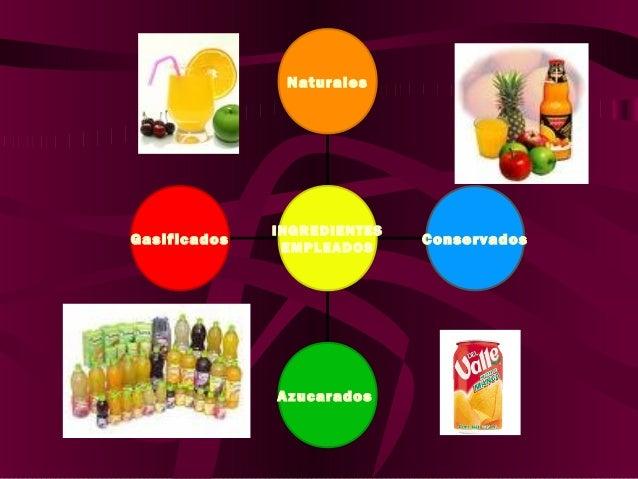 ADITIVOS PERMITIDOS … • Acido ascórbico como antioxidante Compuestos volátiles de la misma fruta, no necesitan ser incluid...