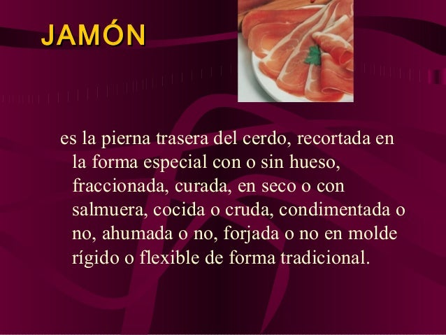 Efectos de las sales de curación En el curado de la carne con salmuera el intercambio de agua y sal se produce por simple ...